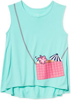 Jessica Simpson Purse Pocket Tank Top, Big Girls (7-16)