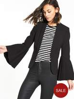 Very Premium Fluted Sleeve Blazer