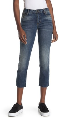 STS Blue Cara Straight Leg Raw Cropped Jeans