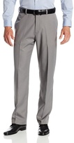 Haggar Men's Cool 18 Classic Fit Plain Front Mini Houndstooth Fancy Pant