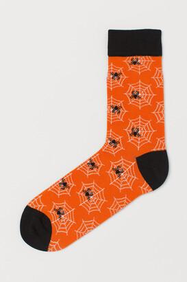 H&M Jacquard-knit Socks
