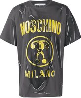 Moschino trompe-l'oeil T-shirt - men - Cotton - 44