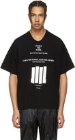 Niløs Black Graphic T-shirt