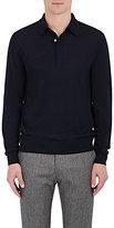 Paul Smith Men's Fine-Gauge Knit Wool Polo Shirt