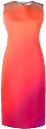 Lanvin ombré pencil dress