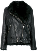 IRO oversized biker jacket