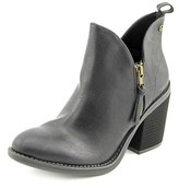 Groove Kat Pointed Toe Synthetic Ankle Boot.