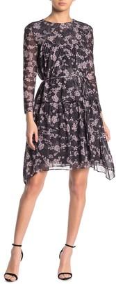 Rebecca Minkoff Jojo Floral Chiffon Dress