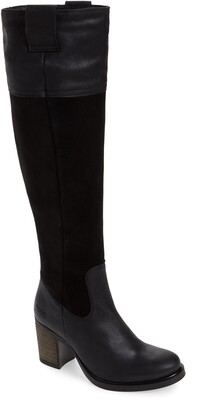 Bos. & Co. Billing Suede Over the Knee Boot