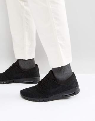 Nike Sb SB Stefan Janoski Max trainers in black 631303-099