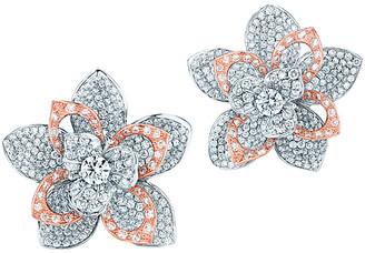Kwiat Lotus 18K Two-Tone 11.24 Ct. Tw. Diamond Earrings