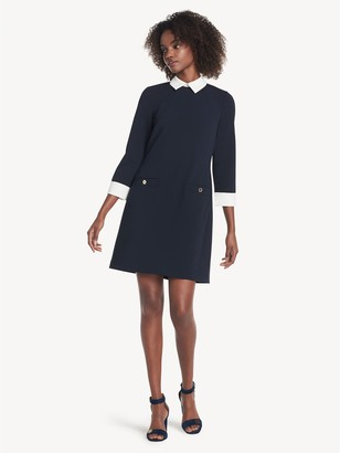 Tommy Hilfiger Essential Collared Long-Sleeve Dress