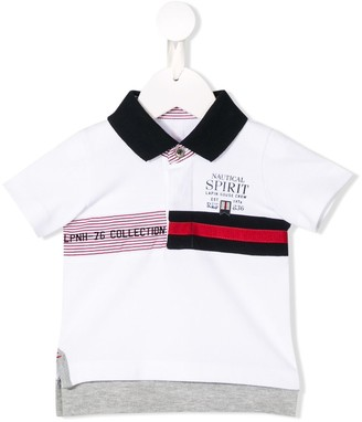 Lapin House Nautical Printed Polo Shirt