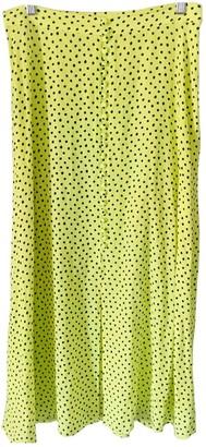 MANGO \N Yellow Skirt for Women