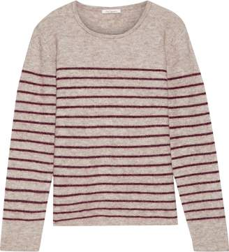 Mes Demoiselles Artaud Striped Brushed Intarsia-knit Sweater