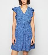 New Look Floral Frill Mini Dress