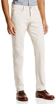 AG Jeans Matchbox Slim Fit Jeans in Bleached Sand - 100% Exclusive