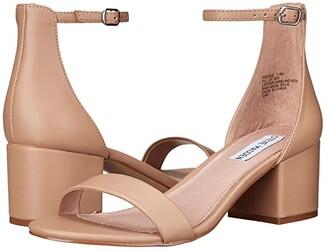 Steve Madden Irenee Sandal (Tan Nubuck) Women's 1-2 inch heel Shoes