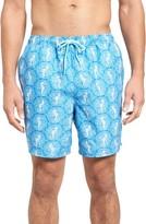 Vineyard Vines Men's Seahorse Dot Bungalow Board Shorts
