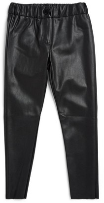 Zadig & Voltaire Faux Leather Leggings (6-16 Years)
