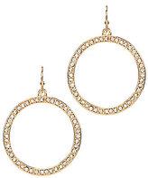 Anna & Ava Cassandra Drop Hoop Earrings