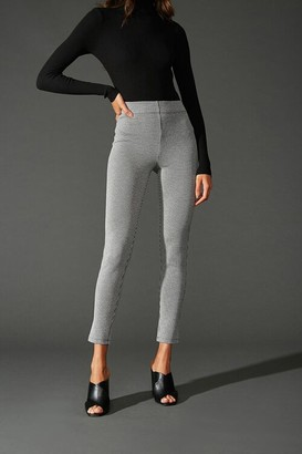 Forever 21 Microplaid Knit Leggings