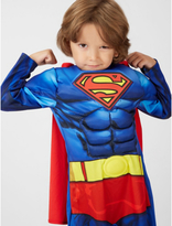 George DC Superman Fancy Dress Costume