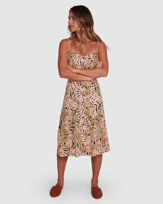 Billabong Hula Palm Paradiso Dress