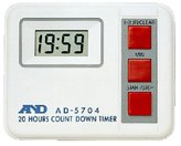 A & D digital timer AD-5704 (japan import)