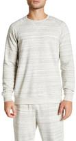 Daniel Buchler Long Sleeve Burnout Sweater