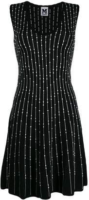 M Missoni v-neck mini dress