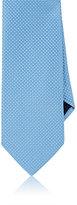 Barneys New York MEN'S DIAMOND NEAT SILK NECKTIE