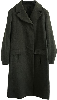 Cos Green Wool Coat for Women