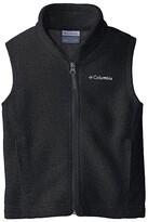 Columbia Kids Steens Mountaintm Fleece Vest (Little Kids/Big Kids) (Charcoal Heather) Boy's Vest