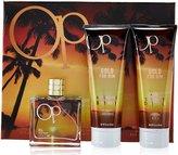 Ocean Pacific Gold 3 Piece Eau De Toilette Gift Set for Him