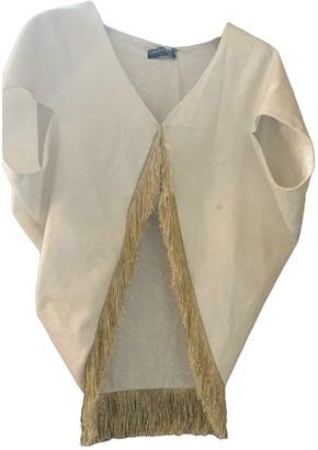 Chiara Boni White Cotton Top for Women