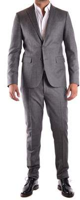 DSQUARED2 Men's Grey Wool Dress