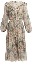 Zimmermann Cavalier floral-print silk-chiffon dress