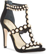 Jessica Simpson Eleia Pearl-Studded Dress Sandals Women's Shoes