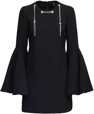 Ellery Mini Dress W/ Flared Sleeves
