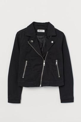 H&M Twill biker jacket