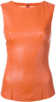 Drome fitted top - women - Nappa Leather - XS