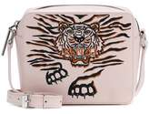 Kenzo Geo Tiger leather shoulder bag