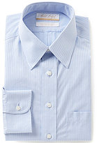 Roundtree & Yorke Gold Label Regular Full-Fit Point Collar Striped Dress Shirt