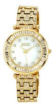 Badgley Mischka Women's Goldtone Bracelet Watch