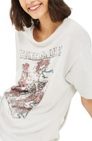 Topshop Women's Grateful Dead Back Slash Tee