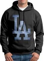Sarah Men's La Dodgers Pond Logo Hoodie XL