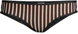 L-Space Horizon Stripe Rachel Classic Bikini Bottom