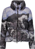 Peter Pilotto Cara printed shell down jacket