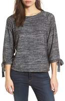 Velvet by Graham & Spencer Women's Tie Sleeve Jersey Top
